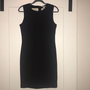 Black sleeveless sheath dress H&M Size 10